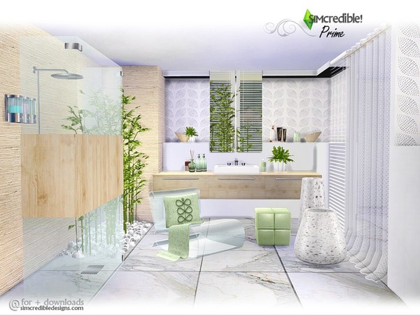 Prime modern bathroom by SIMcredible at TSR image 4425 Sims 4 Updates