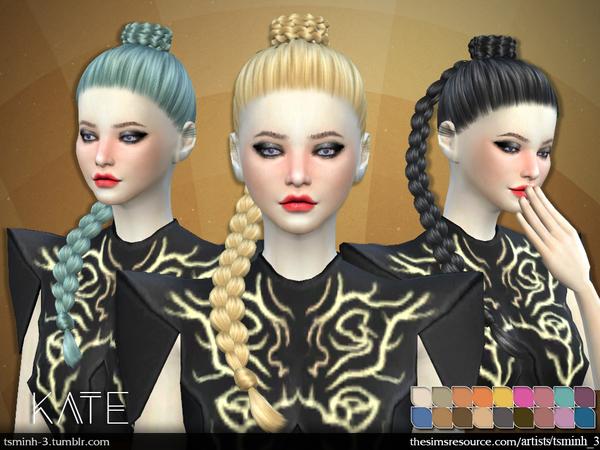Kate Hair 7 by tsminh 3 at TSR image 4515 Sims 4 Updates