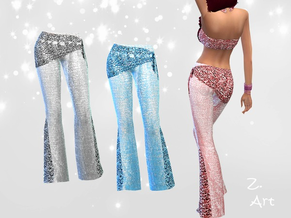 Belly Dance Set by Zuckerschnute20 at TSR image 4518 Sims 4 Updates