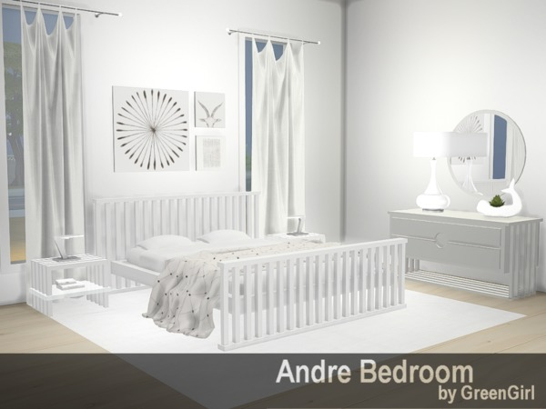 Andre Bedroom By Green Girly100 At Tsr 187 Sims 4 Updates