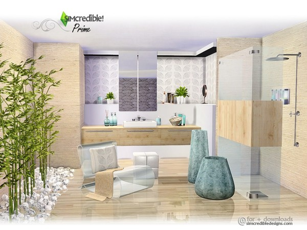 Prime modern bathroom by SIMcredible at TSR image 4525 Sims 4 Updates