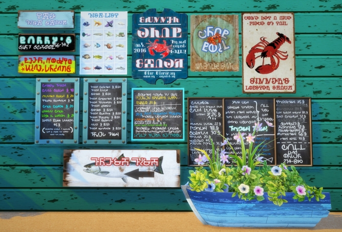 Fish shack set at budgie2budgie sims 4 updates for Sims 4 fishing