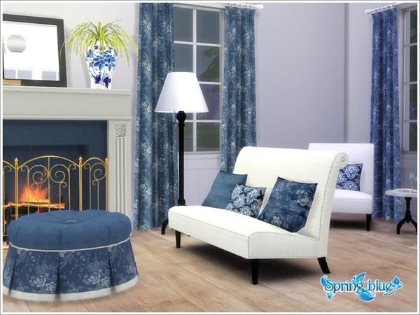 Azure Living by Severinka at TSR image 465 Sims 4 Updates