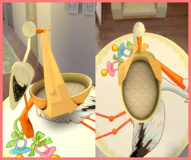 Stork Crib Conversion 2t4 at Nathalia Sims image 4814 Sims 4 Updates