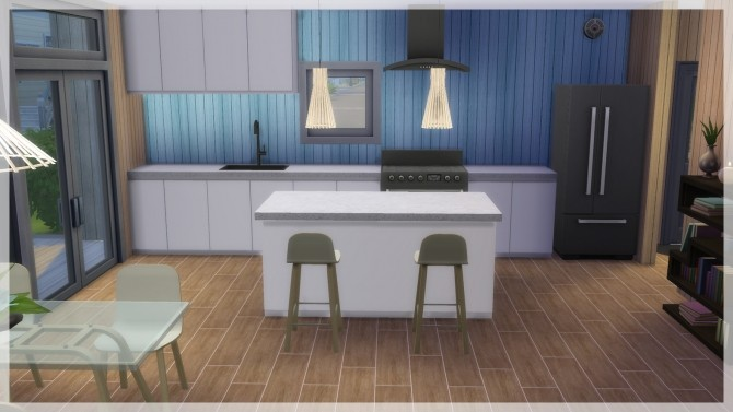 Sims 4 Roxen house by Indra at SimsWorkshop