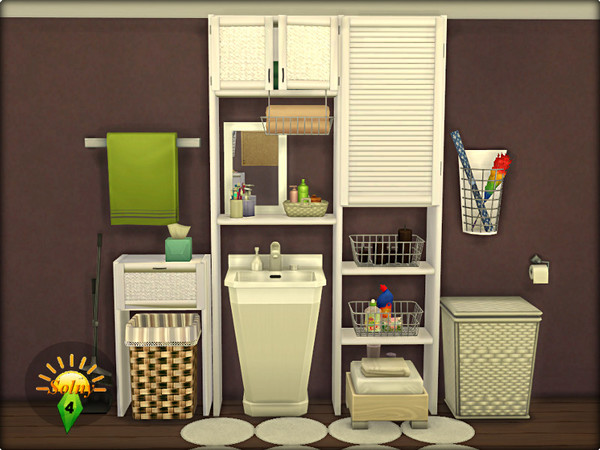 Boxroom decorative set by Solny at TSR image 5 Sims 4 Updates