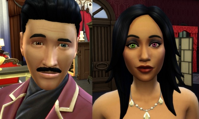 2 Different Eyes (Heterochromia, Blind Eye, Sci Fi/Fantasy) by Esmeralda at Mod The Sims image 5216 670x402 Sims 4 Updates