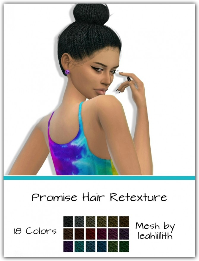 Promise Hair Retexture by maimouth at SimsWorkshop image 5310 670x878 Sims 4 Updates
