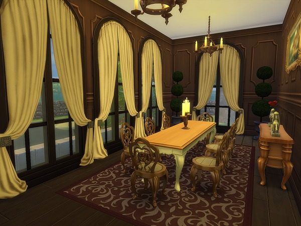 Sims 4 Europa Estate by Ineliz at TSR