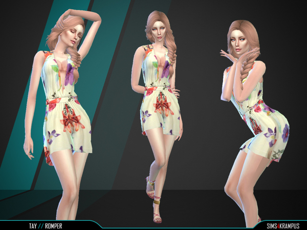 Sims 4 Tay Romper by SIms4Krampus at TSR