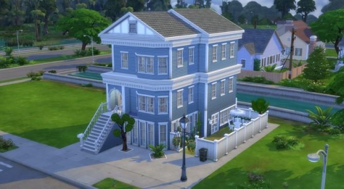 Sims 4 San Francisco House by Pyrénéa at Sims Artists