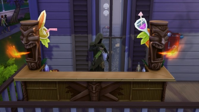 Sims 4 Honest Uncle Grimbos Party Hire and Undertaker by danburite2 at Mod The Sims