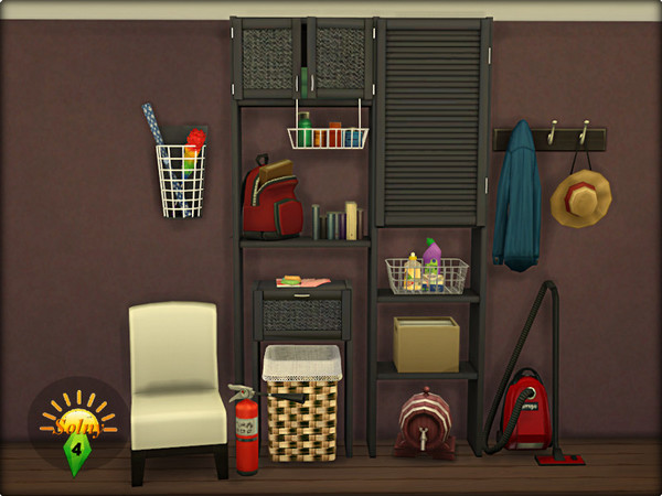 Boxroom decorative set by Solny at TSR image 6 Sims 4 Updates