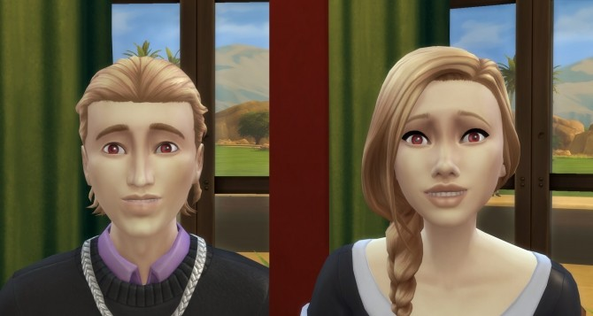 Sims 4 GTWs Evil Clone eyes CAS enabled by kinghorus 02 at Mod The Sims