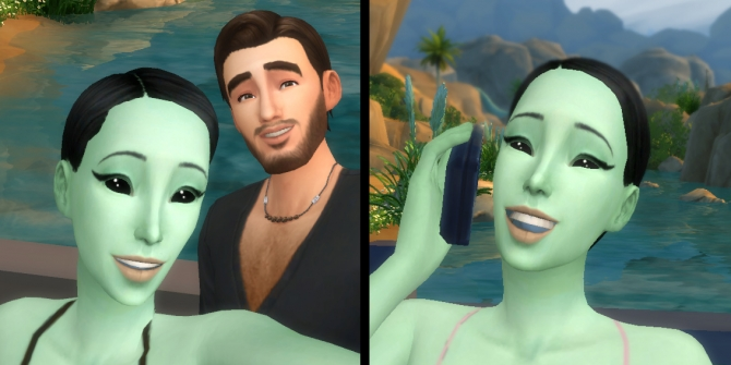 how to meet aliens sims 2