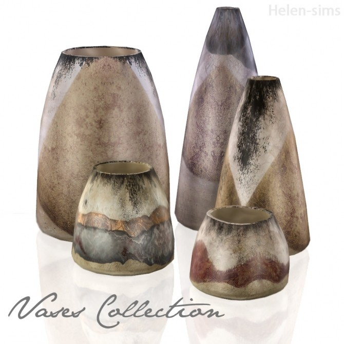 Sims 4 Vases Collection at Helen Sims