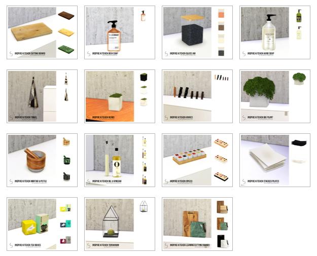 Kitchen Deco Set by k-omu at TSR