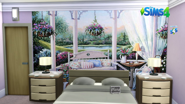 Sims 4 Spring Explosion Murals at El Taller de Mane