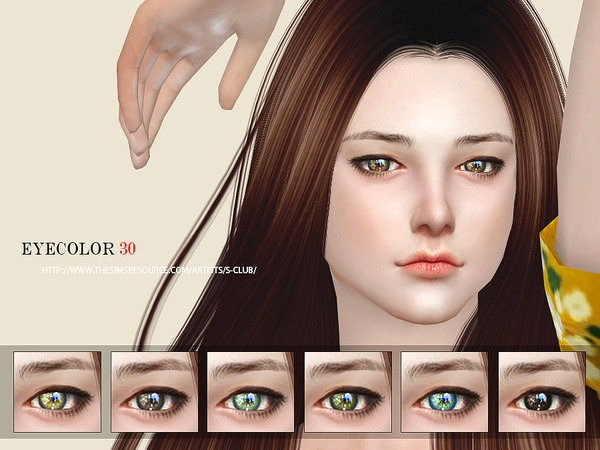 Sims 4 Eyecolor 30 by S Club WM at TSR