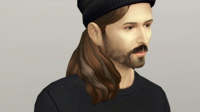Sims 4 Long Wavy Classic Edit V2 Hair at Rusty Nail