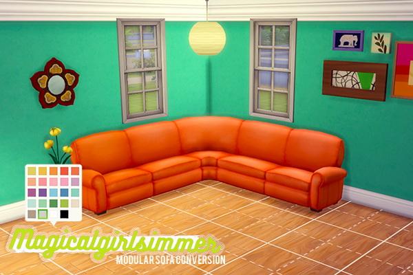 Modular Sofa By Magicalgirlsimmer At Simswork