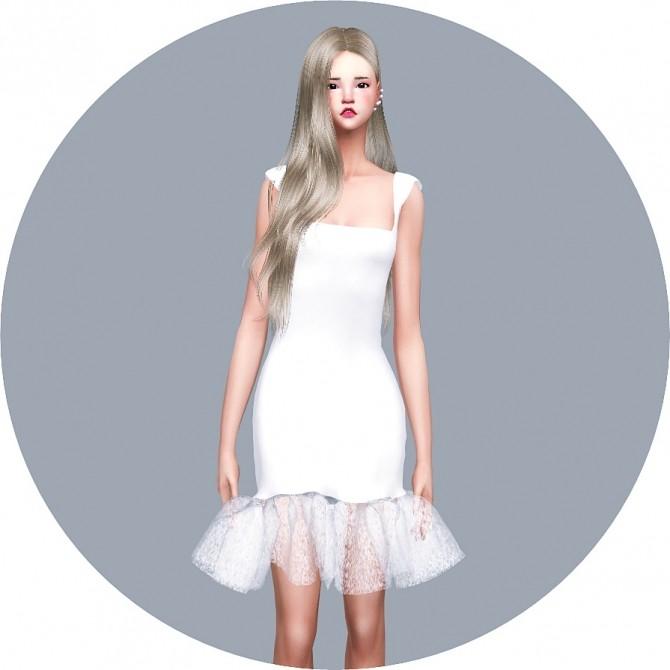 Sims 4 Mermaid Dress at Marigold