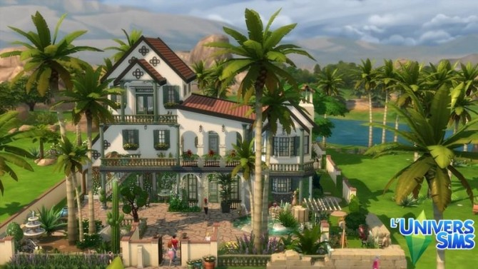 Isola Rossa house by chipie cyrano at L'UniverSims image 7591 670x377 Sims 4 Updates