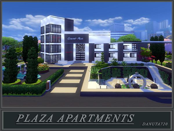 Sims 4 PLAZA Apartments by Danuta720 at TSR