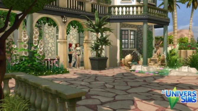 Isola Rossa house by chipie cyrano at L'UniverSims image 7610 670x377 Sims 4 Updates