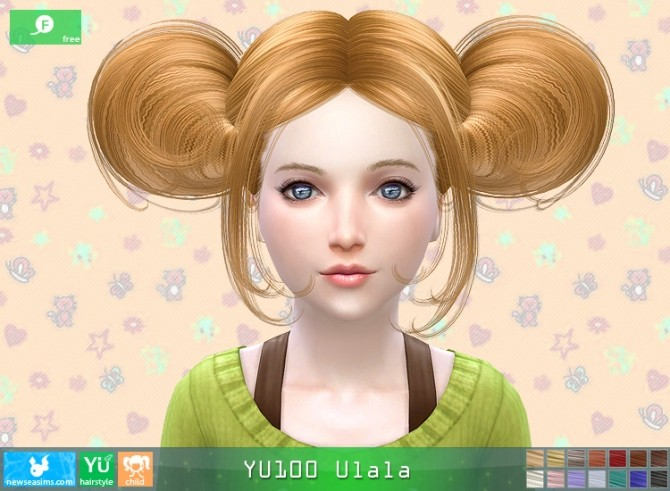 YU100 Ulala hair child (FREE) at Newsea Sims 4 image 772 670x491 Sims 4 Updates