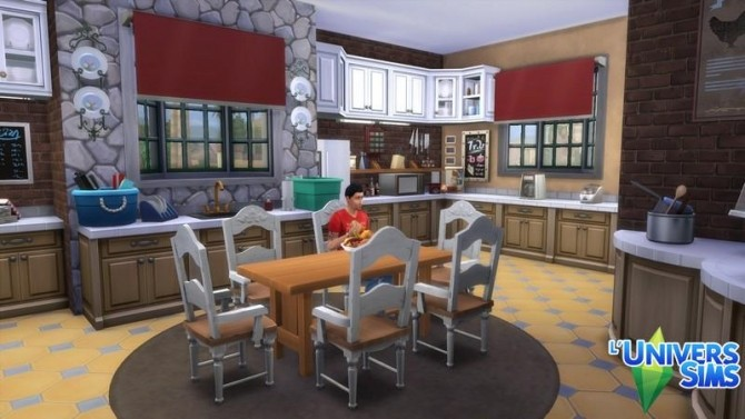 Isola Rossa house by chipie cyrano at L'UniverSims image 779 670x377 Sims 4 Updates