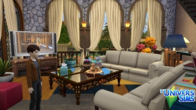Isola Rossa house by chipie cyrano at L'UniverSims image 789 670x377 Sims 4 Updates
