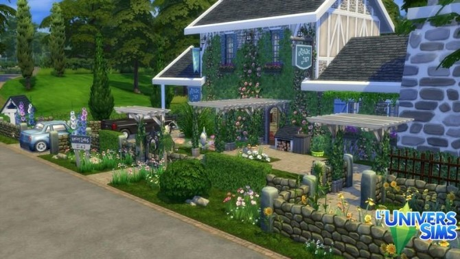 Bed&Breakfast lot by chipie cyrano at L'UniverSims image 8114 670x377 Sims 4 Updates