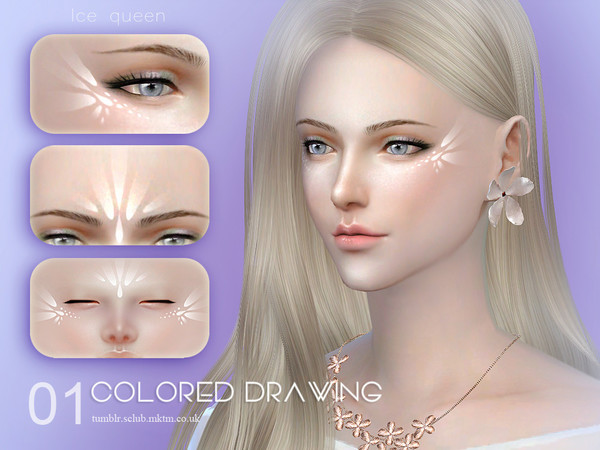 Sims 4 Colored drawing 01 by S Club LL at TSR