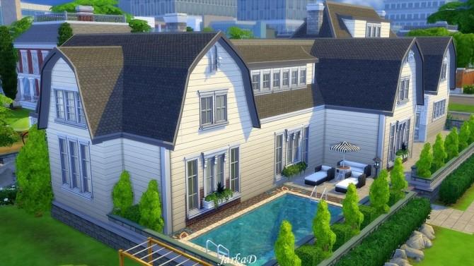 Sims 4 Villa CAMILLA at JarkaD Sims 4 Blog