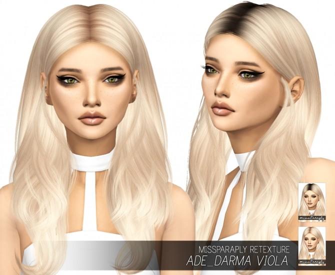Ade Darma Viola: Solids & Dark Roots at Miss Paraply image 865 670x550 Sims 4 Updates