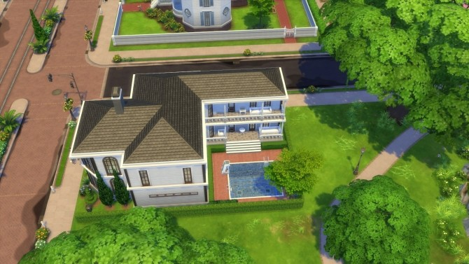 Sims 4 The White Suburban by Roif456 at Mod The Sims