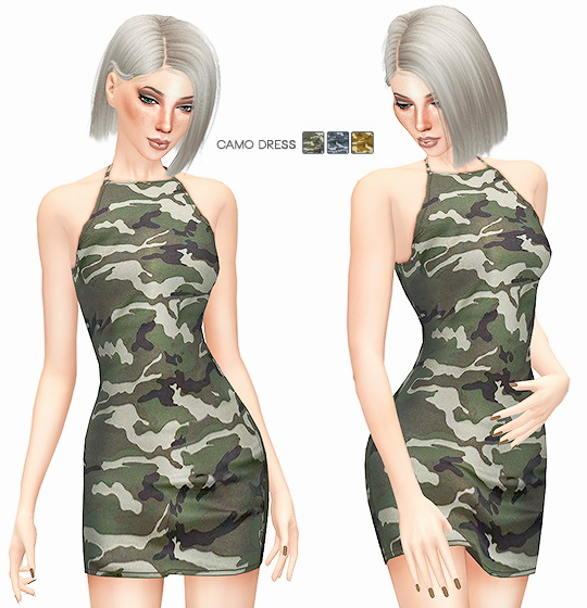 Sims 4 CAMOUFLAGE COLLECTION at Leeloo