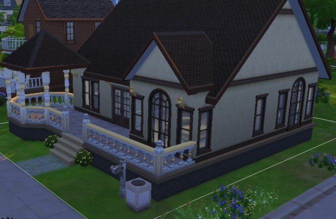 Small Victorian Starter by stfrancis at Mod The Sims image 898 670x437 Sims 4 Updates