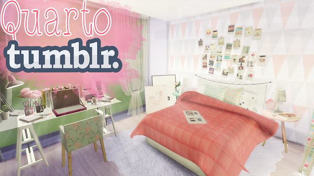 Room Tumblr + Tips decoration at Mony Sims » Sims 4 Updates ~ Quarto Personalizado Tumblr