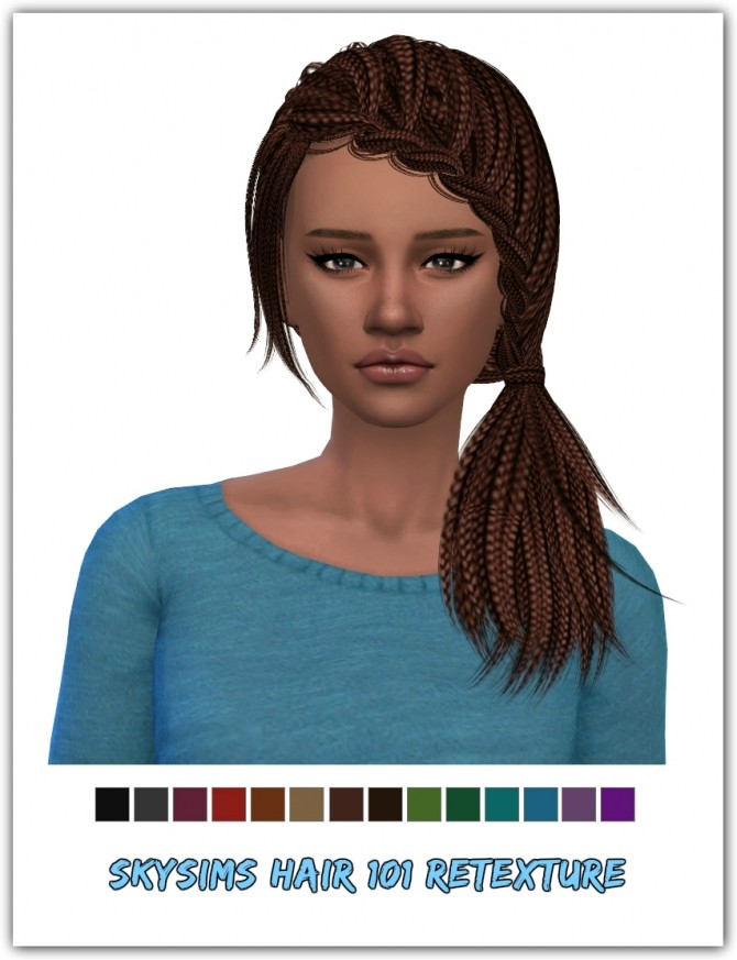 Skysims hair 101 Retexture at Maimouth Sims4 image 906 670x873 Sims 4 Updates