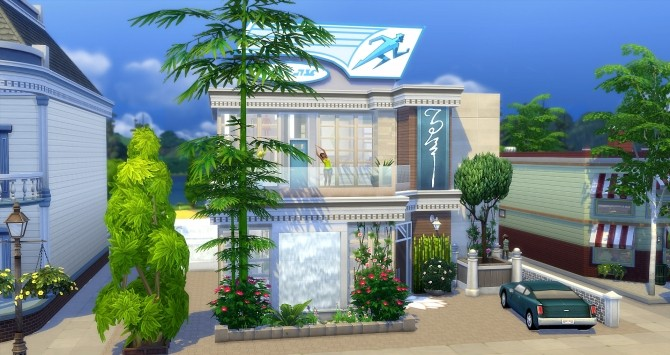 The Flash gym at Studio Sims Creation image 9119 670x355 Sims 4 Updates