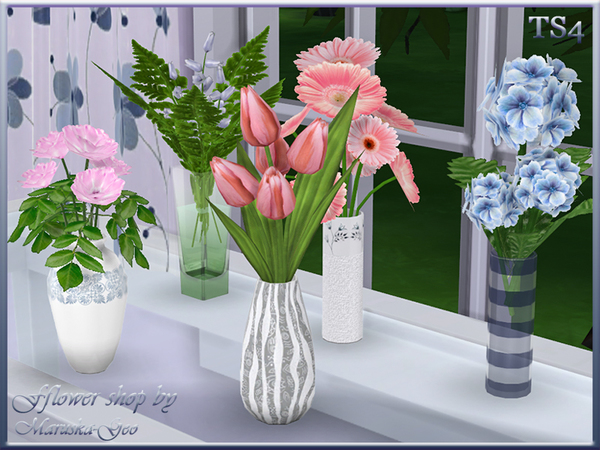 Flower shop by Maruska Geo at TSR image 92 Sims 4 Updates