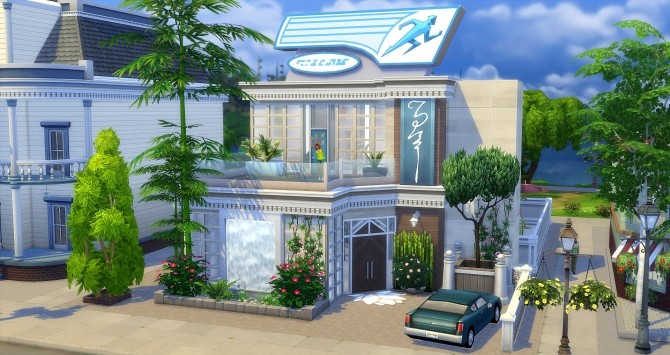 The Flash gym at Studio Sims Creation image 9216 670x355 Sims 4 Updates