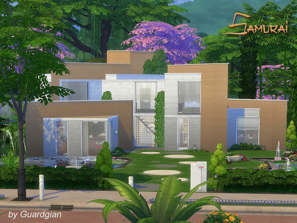 Samurai house by Guardgian at TSR image 928 Sims 4 Updates
