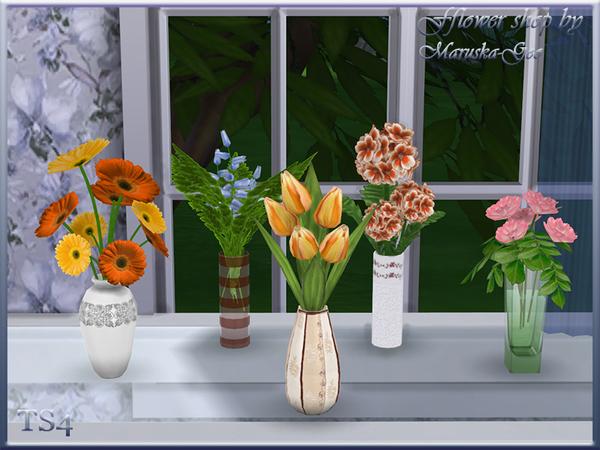 flower shop by maruska geo at tsr sims 4 updates. Black Bedroom Furniture Sets. Home Design Ideas