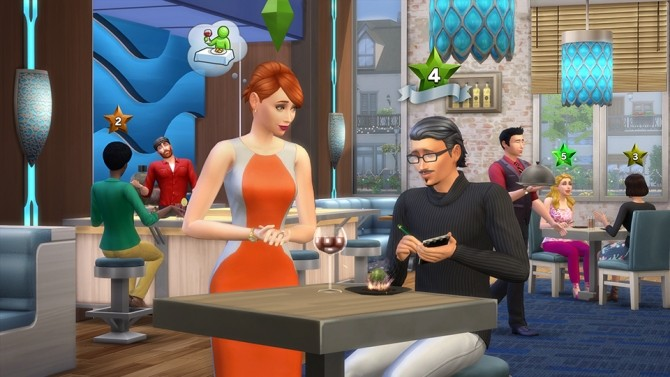 The Sims 4 Dine Out 11 Ways To Customize Your Restaurant image 9314 670x377 Sims 4 Updates
