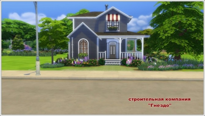 Sims 4 Cozy house at Sims by Mulena
