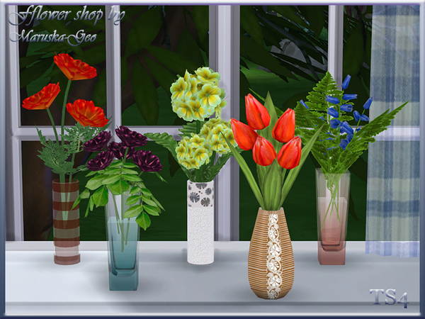 Flower shop by Maruska Geo at TSR image 94 Sims 4 Updates