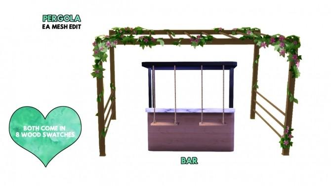 Marbella Teak Garden Collection at DreamCatcherSims4 image 943 670x377 Sims 4 Updates